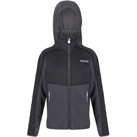 Regatta Bracknell II Softshell Jas Kinderen, seal grey/seal grey/black